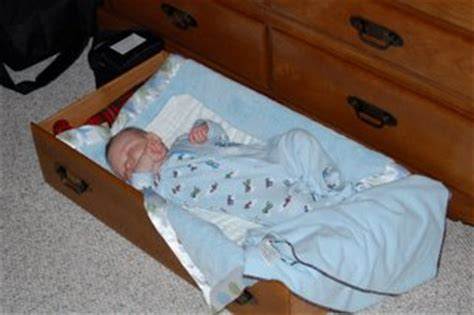 Baby In Drawer after dozens of deaths drop side cribs outlawed