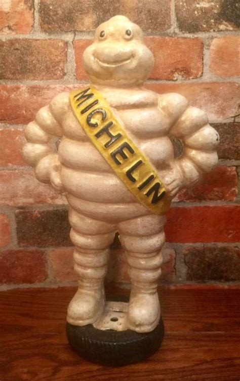 cast iron michelin man shop collectibles  daily