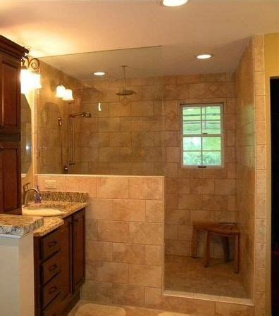 25 best ideas about shower no doors on master