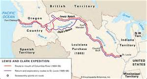 Lewis And Clark Route Map by Lewis And Clark Return Route Images Amp Pictures Becuo