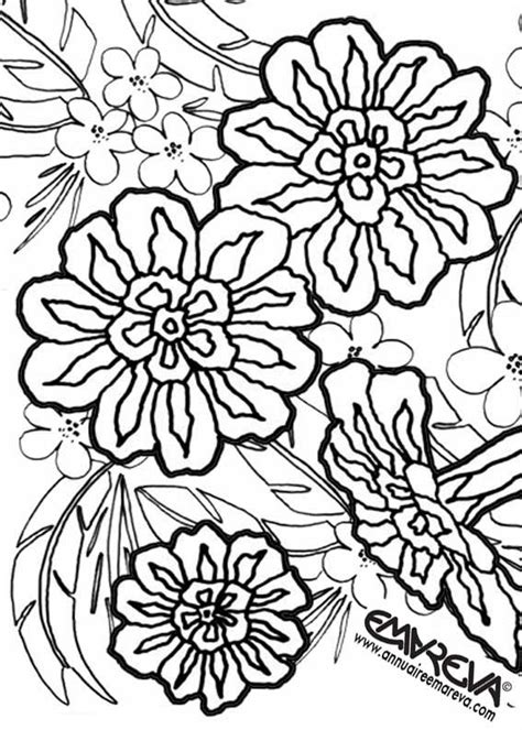 imagenes raras para dibujar 95 dessins de coloriage fleur de tiar 233 224 imprimer
