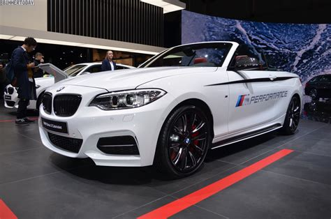 Bmw 2er Performance by Bmw M Performance Tuned M240i Convertible At Geneva