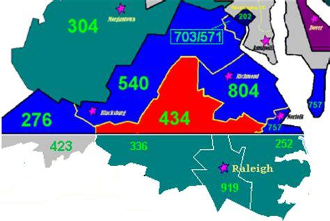 Area Code 757 Lookup Area Code 434