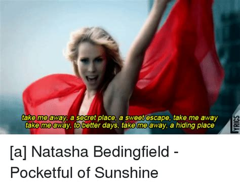 In The Secret In A Place Lyrics Bedingfield Memes Of 2016 On Sizzle Ali