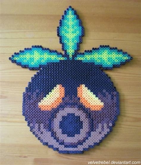 how to make a bead mask deku mask perler by velvetrebel deviantart on