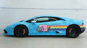 Where To Buy Lamborghini You Can Buy Deadmau5 S Nyan Cat Themed Lamborghini Huracan