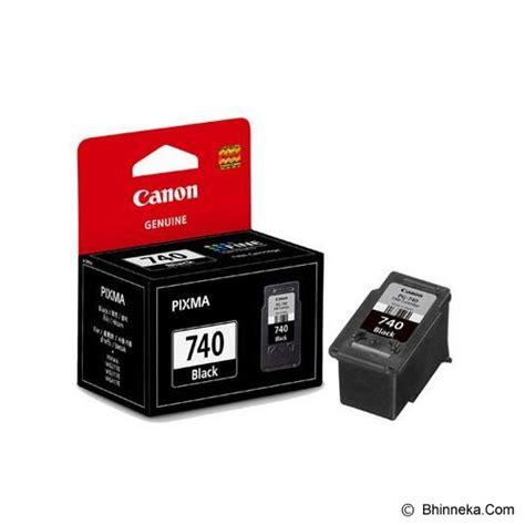 Tinta Printer Canon 740 Black Jual Canon Black Ink Cartridge With Print Pg 740
