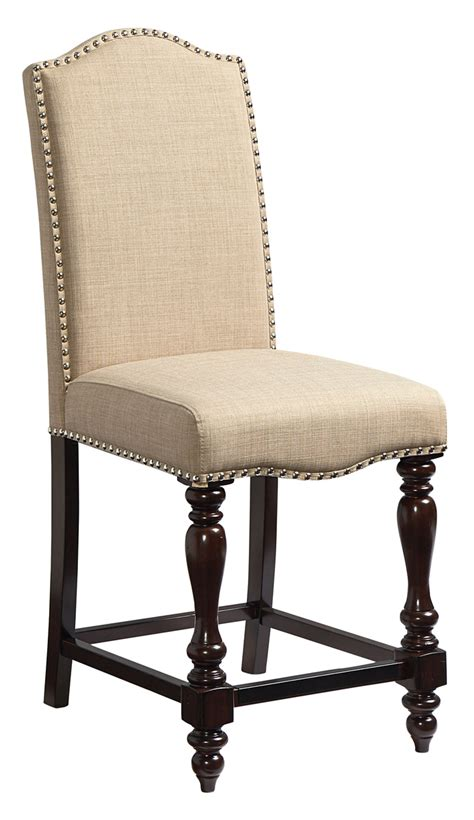 Standard Furniture Mcgregor Upholstered Counter Height Standard Height Of Dining Chair
