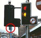 do traffic lights sensors uk light cameras fail to improve behavior