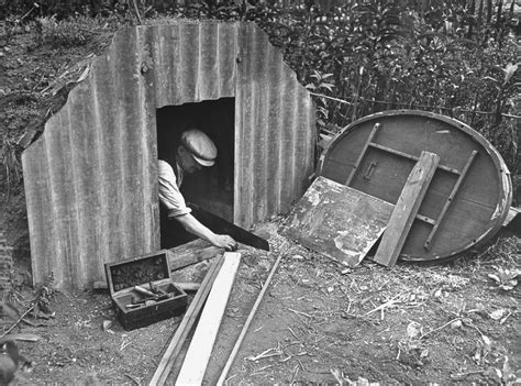 backyard bomb how families lived in their wwii backyard bomb bunkers
