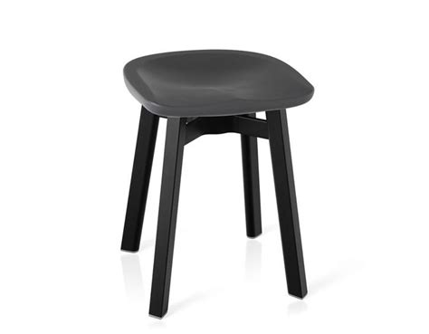 Ongoing Stools by Su Small Stool With Plastic Seat Hivemodern