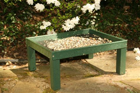 ground bird feeders platform bird feeder by