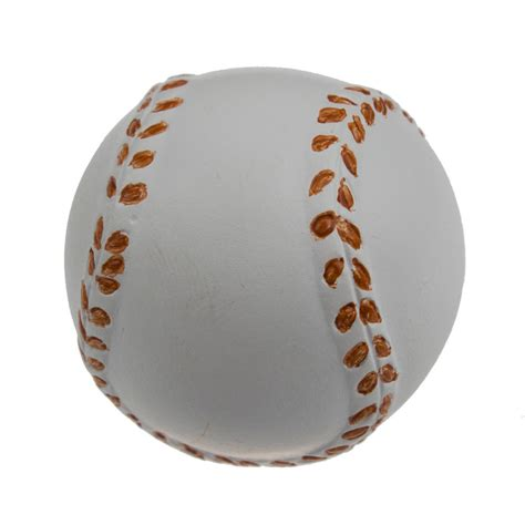 Baseball Dresser Knobs 1060 bb baseball painted realistic sports cabinet