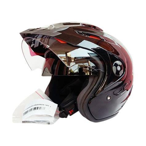 Helm Kyt Venom Rr2 Solid jual kyt venom rr helm half black metalik harga kualitas terjamin blibli