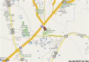 map of ginn reunion resort kissimmee