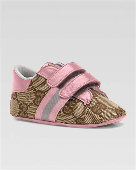 gucci ace sneaker pink baby