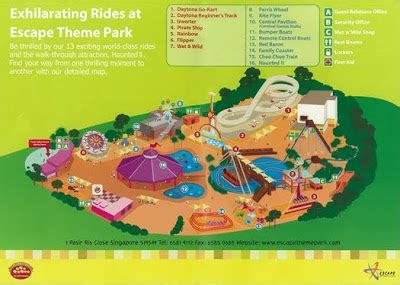 escape theme park singapore city 360 places to go in singapore escape theme park singapore
