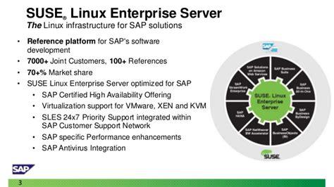 tutorial suse linux enterprise server moving sap from unix to suse linux enterprise