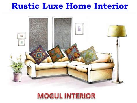 luxe home interior ppt rustic luxe home interior powerpoint presentation id 7696456