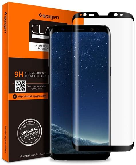 Samsung Galaxy S8 Screen Protector Cover Original spigen samsung galaxy s8 plus screen protector friendly glas tr cover glass 571gl21778