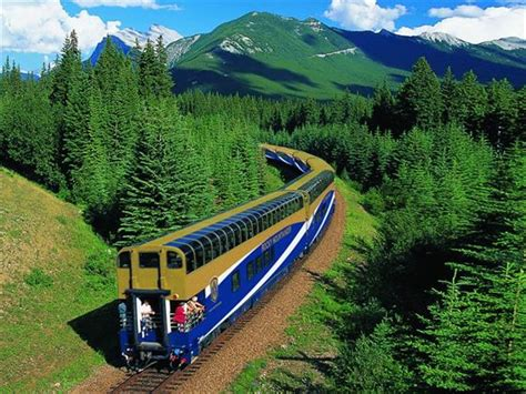 Canada Rail Tours Including Rocky Mountaineer Holidays