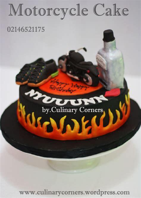 harley davidson motorcycle cake untuk nyuuunn culinary corners