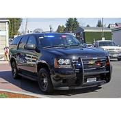 Snohomish Police Department Unmarked Chevrolet Tahoe PPV D