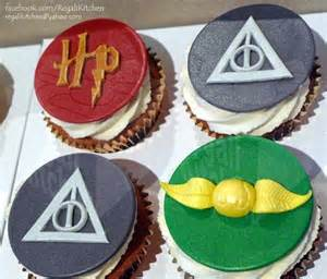 Birthday Cake Decoration Ideas At Home harry potter cupcakes for penny cakes by the regali kitchen