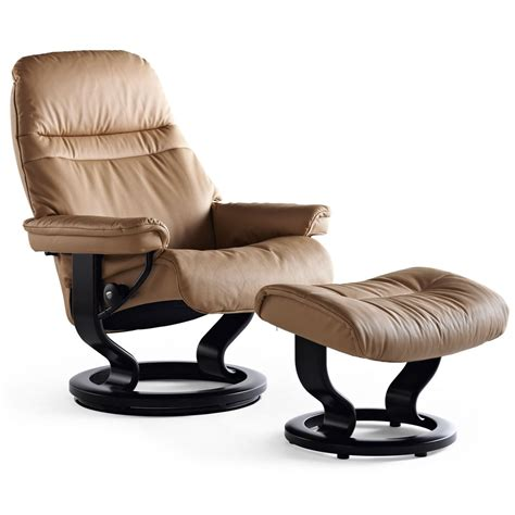stressless recliner price stressless sunrise medium recliner ottoman from 2 295