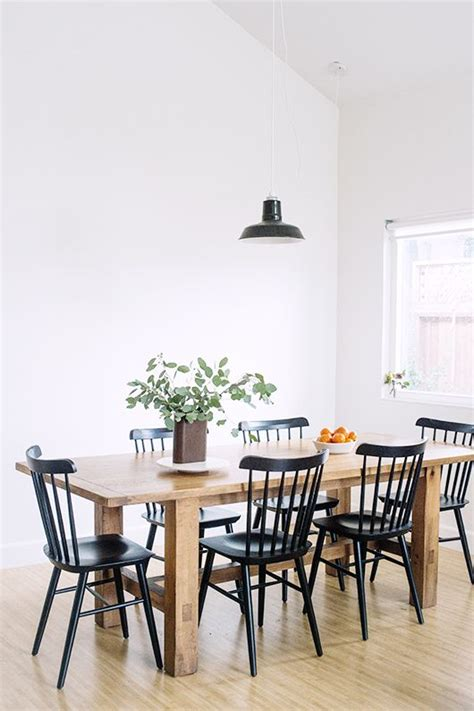 black wood kitchen table 25 best ideas about black dining tables on