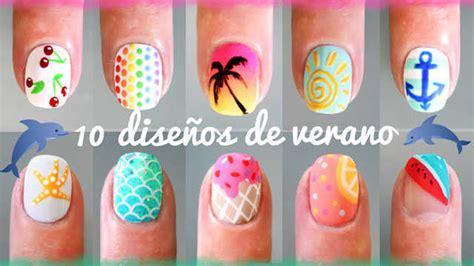 imagenes de uñas pintadas de verano 10 dise 241 os de u 241 as de verano diy paso a paso nailistas