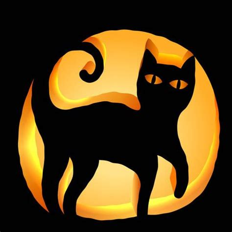 Pumpkin Carving Cat Templates 25 best ideas about cat pumpkin carving on