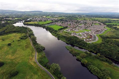 the lower river aerial photos lower river shannon old river shannon trust