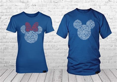 Him And Shirts Mickey And Minnie Couples Matching Disney Shirts For Him