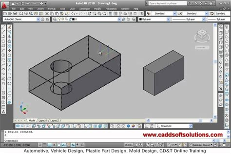online tutorial of autocad autocad 3d modeling basic tutorial video for beginner 1