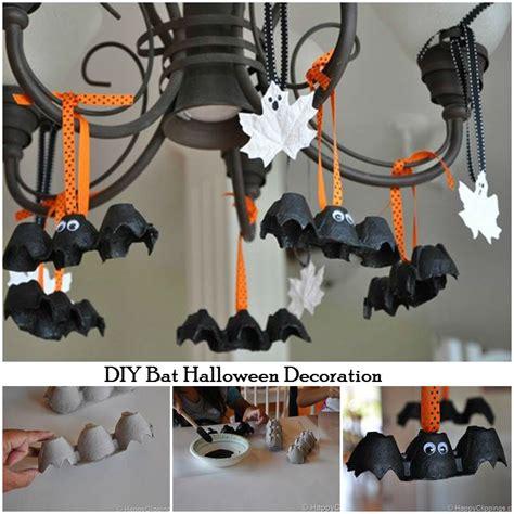 halloween diy decorations diy bat halloween decorations i luv diy