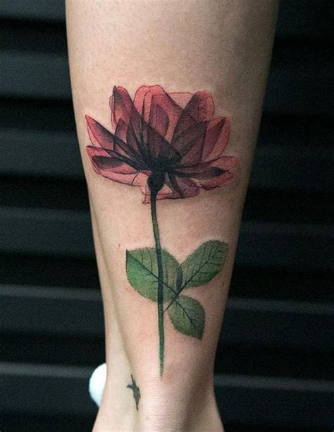 rose tattoo on calf 25 best ideas about calf on