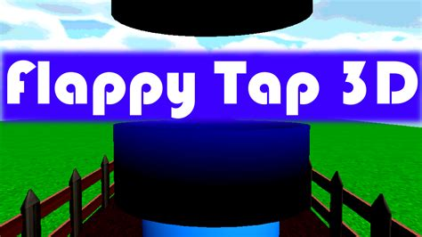 Flappy Bird Tap Tap flappy tap 3d help the bird to fly through pipe