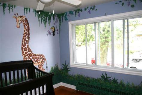 jungle baby room decor