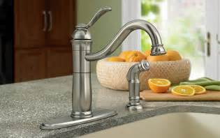 kitchen faucets types