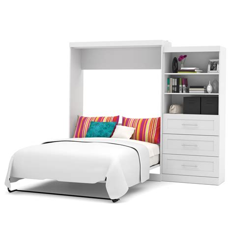 queen wall bed pur 101 quot queen wall bed kit in white