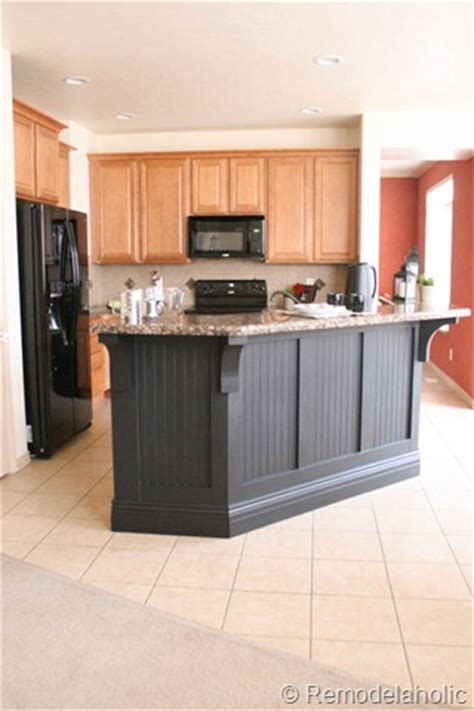 kitchen island makeover kitchen island makeover with corbels part two diy