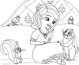 sofia the coloring page sofia the coloring pages minimus and sofia the