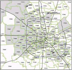 houston area code map picture foto car templates fotos houston zip code