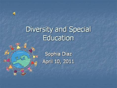 Diversity And Special Education Authorstream Special Education Powerpoint Templates
