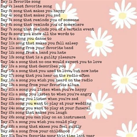 8tracks radio 30 day song challenge 25 songs free 8tracks radio 30 day song challenge 12 songs free