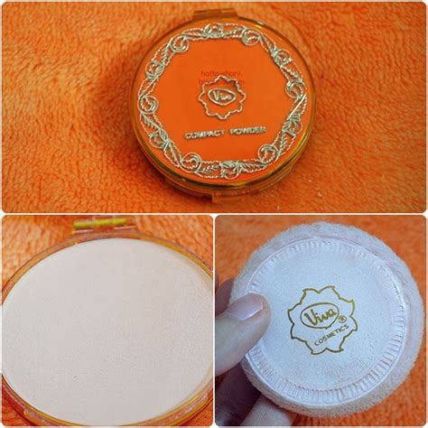 Bedak Viva Compact Powder review viva compact powder
