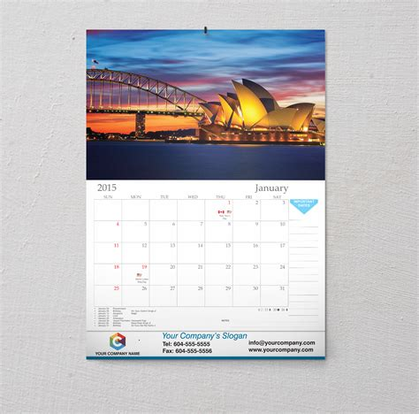 Wall Calendars Custom Wall Calendars With Printers