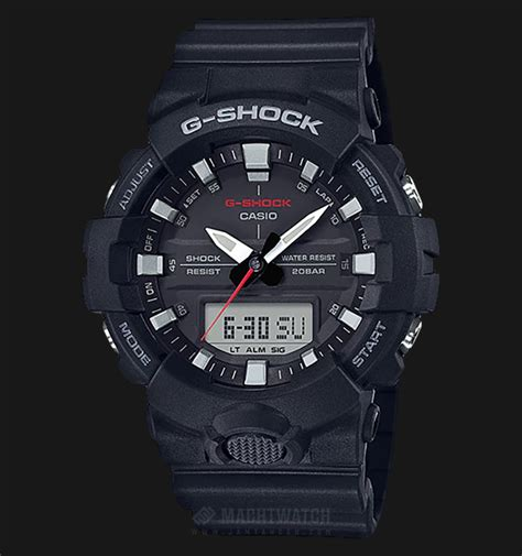 New Edition Jam Tangan Jonas Rantai Diskon casio g shock standard digital analog ga 800 1adr black black resin jamtangan