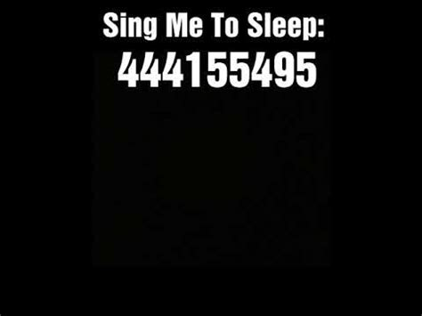Sing Yesterday For Me 1 2 alan walker sing me to sleep roblox id
